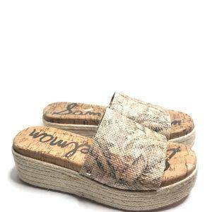 Sam Edelman Weslee Slide Platform Sandal